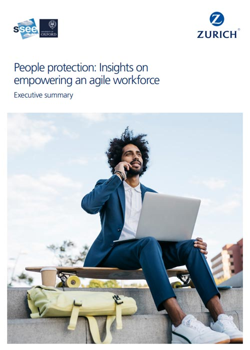 PDF cover People protection: Insights on empowering an agile workforce Executive Summary