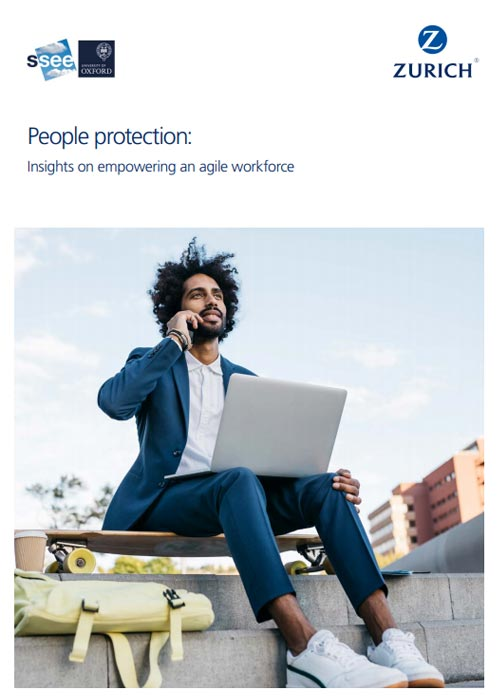 PDF cover People protection: Insights on empowering an agile workforce