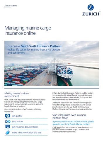 Marine Zurich Insurance